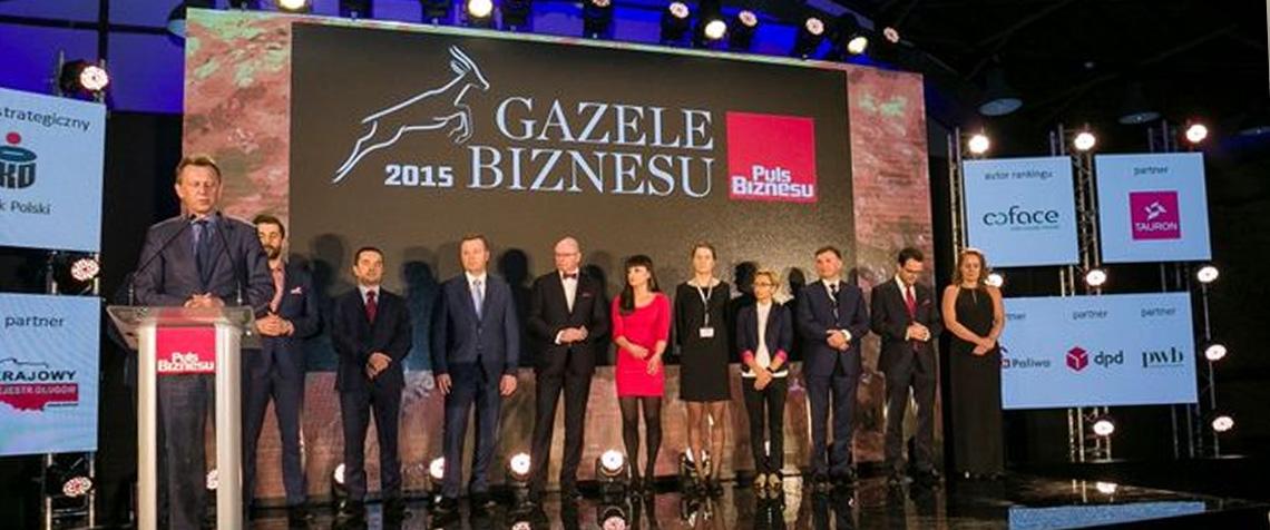 GRUPA MAROX - Gazelą Biznesu 2015
